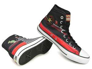 CONVERSE ALL STAR SUPER MARIO BROS.SC.HI Black Unisex29.0cm US10.5