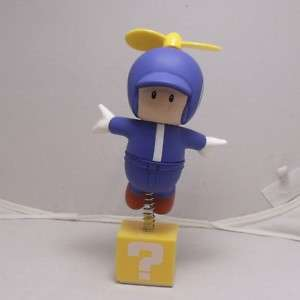 New Nintendo Super Mario Propeller Blue Toad Figure