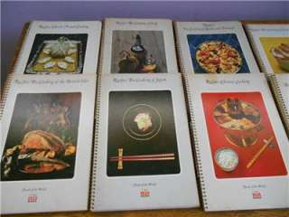 Lot of 12 Vintage Foods of the World Cookbooks   Time/Life Set   Way