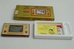 NEW Nintendo Game & Watch Octopus Import Japan