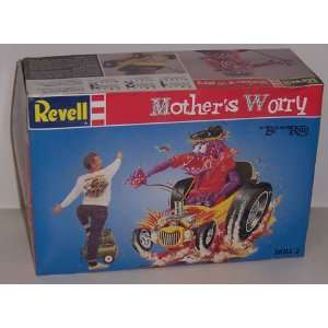 Ed Big Daddy Roth Mothers Worry Model Kit Toys & Games