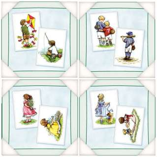 Flower Soft Moments in Time Card Toppers Boys or Girls