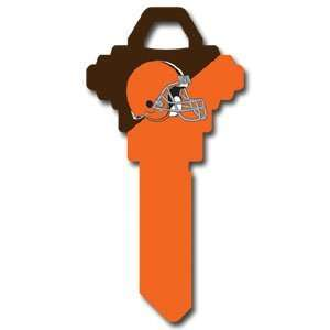 Cleveland Browns Schlage Team key   NFL Football Fan Shop Sports Team