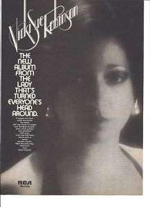 1976 Vicki Sue Anderson Album Ad Turn the Beat Around