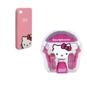 Hello Kitty Over the Ear Headphones and Pink Hello Kitty