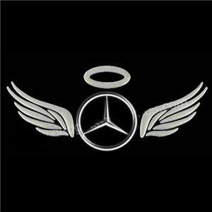 3D Angel Fairy Wings Car Sticker Automobile Decal Label |