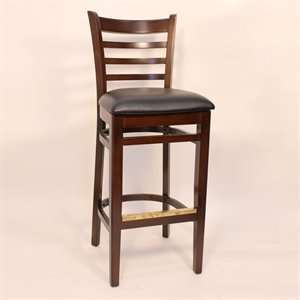 Factory Direct 7234H WABL Ladder Back Four Bar Stool ( Set