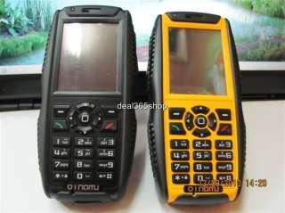 Unlock GPS+Interphone+Waterproof Army Mobile Phone with 2.0 MP cam