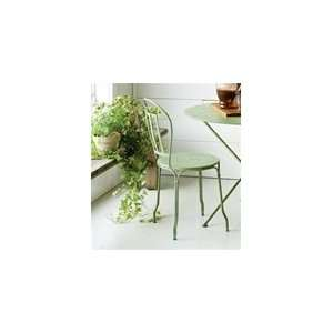 Green Patina Cottage Chair