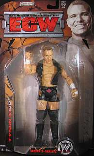 TYSON KIDD ECW 5 WWE JAKKS TOY WRESTLING ACTION FIGURE