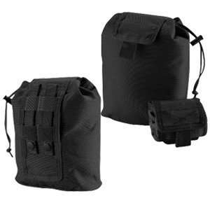 Modular Roll Up Multi Purpose Storage Pouch, Black