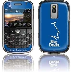 Duke University Blue Devils skin for BlackBerry Bold 9000