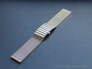 High Quality MESH Watch Strap Made in Germany   20mm, 22mm