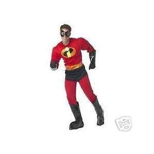 Disney Mr Incredible Incredibles MENS Costume Toys & Games