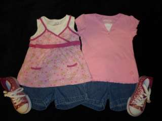 37 PIECE LOT GIRLS SPRING SUMMER CLOTHES SIZE 6/7 6 7OUTFITS SETS
