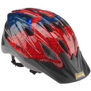 Spider Man Boys Web Shooter Cycling Helmet  Sports