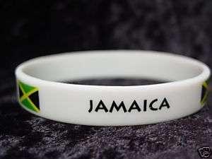 Jamaica Jamaican Country Pride Flag Wristbands Set of 2