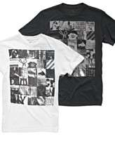 Marc Ecko Cut & Sew T Shirt, Square Squared Crew Neck Graphic T Shirt