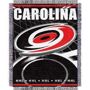 Carolina Hurricanes NHL Triple Woven Jacquard Throw (019