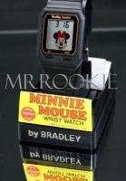 Disney Bradley Minnie Mouse Black RETRO   style Watch