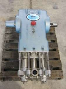 6040 Triplex High Pressure Piston Pump 40 GPM 100   1500 PSI