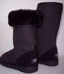 UGG Australia Black Boots New In Box Classic Tall 5815