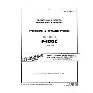 North American Aviation F 100 C Aircraft Maintenance Manual North