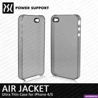 Air Jacket Ultra Thin Scratch Repair Hard Case iPhone 4 4S   Smoke