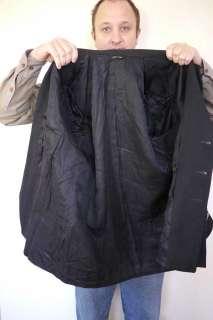 US NAVY Wool OFFICERS Brass Button Dress Blazer Sport COAT Jacket 1985