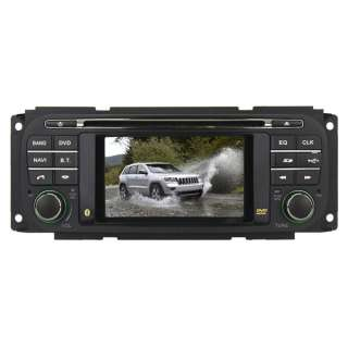 For 1999 2004 Jeep Grand Cherokee Dodge Chrysle Car DVD GPS Player 4.3