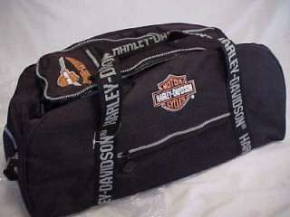 HARLEY DAVIDSON TRAVEL/DUFFLE BAG NWT