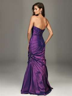 Breast Beads Long Strapless Prom Dress Evening Party Dress New Hot
