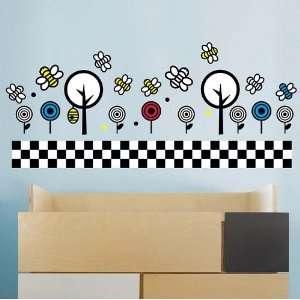 WallCandy Arts Smarts Bees and Trees Nursery Wall Decal Baby