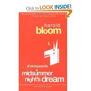 Midsummer Nights Dream Harold Bloom  Books