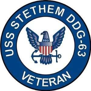 US Navy USS Stethem DDG 63 Ship Veteran Decal Sticker 5.5