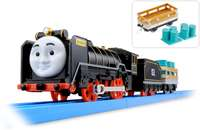 Trackmaster Tomy Thomas & Friends HIRO WITH CARRY CAR