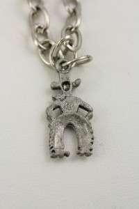 Vintage Costume Jewelry Lot 3 Silver Charm Bracelets 7