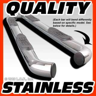 Side Step Board Stainless Steel 2002 2008 HONDA ACURA PILOT 02 06 MDX