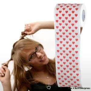 HEART VALENTINE Toilet Paper rolls ~ Bathroom Decor