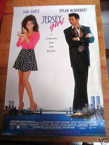 JERSEY GIRL [MOVIE POSTER] ORIG. 1992 NM JAMI GERTZ