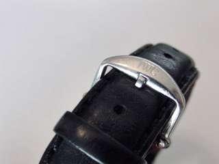 IWC Portofino AUTOMATIC men WATCH leather black strap