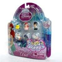 Squinkies Bubble Pack 6pcs Inside Disney Princess Hello Kitty Xmas Toy