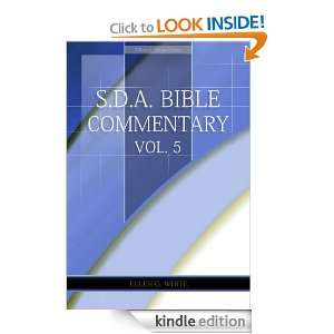 Bible Commentary Vol. 5 (Ellen White Comments Only) Ellen G