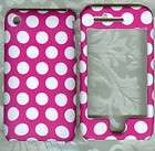 pink white polka dot APPLE IPHONE 3G 3Gs PHONE COVER hard protector