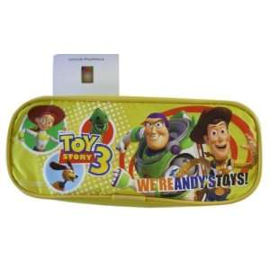 Disney 8in Andys Toys Yellow Toy Story Pencilbag   Toy