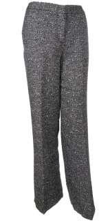 Sutton Studio Womens Tweed Dress Pants Black & White   Misses & Plus