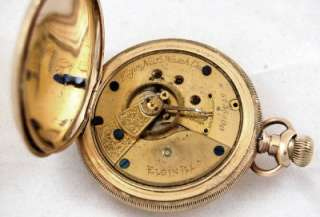 Elgin National Watch Co. Pocket Watch 1894