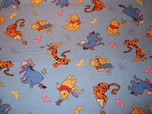 BABY WINNIE THE POOH & FRIENDS NEW 100% COTTON QUILTING FABRIC