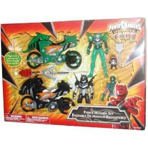 Power Rangers Jungle Fury Action Figure And Cycle Playset