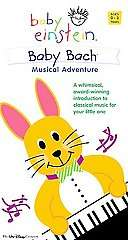 Baby Einstein   Baby Bach Musical Adventure VHS, 2004, Bonus CD